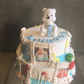 First Birthday Cake - Cake by Doroty