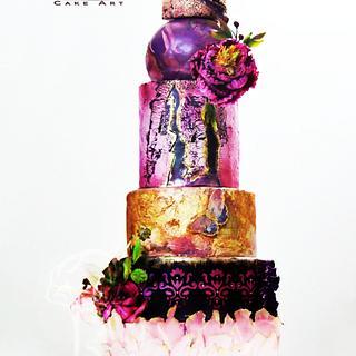 Wedding Cake Design By Purbaja B Chakraborty