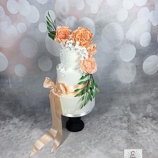 Weddingcake  - Cake by ER Torten