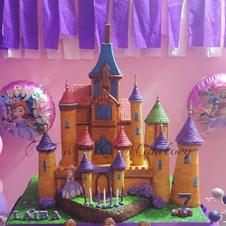 sofia the first theme bday