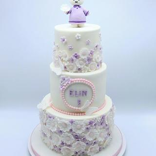 Elegant girls cake