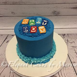 BABY BOY - Cake by ECM