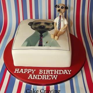 Sergei Meerkat cake