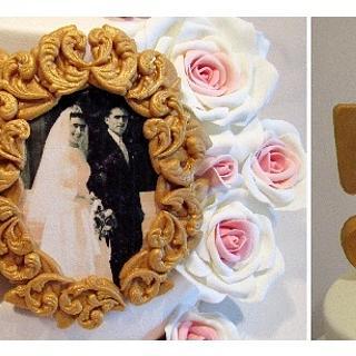 50th Wedding Aniversary Cake!