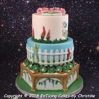 Beatrix Potter Themed cake