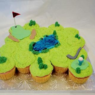 3D Golf Course - Cake by Dawn Henderson