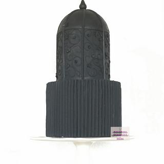 Black Beauty  - Cake by RupalsCakes (MACARONS MERINGUES &MORE )