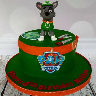 Nathan - Rocky Paw Patrol Birthday Cake