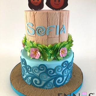 Moana Emoji - Cake by Irina - Ennas' Cake Design