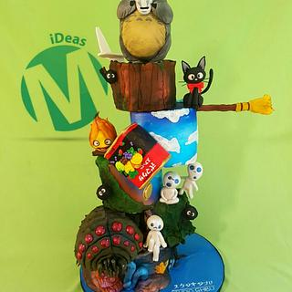 GHIBLI MIX. (Studio Ghibli Cake Collaboration)