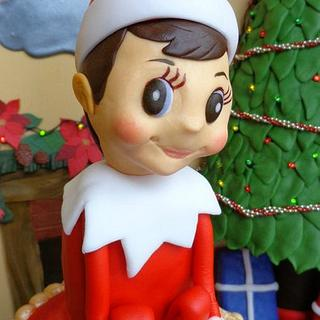 """Chippy from Elf on the Shelf """"Bake a Christmas Wish"""""""
