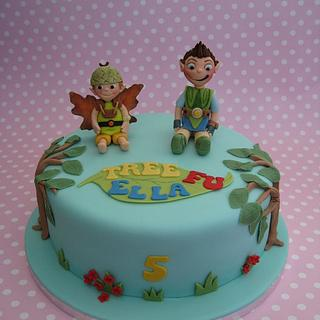 Tree Fu Tom cake