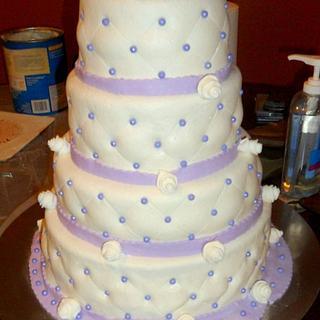 WEDDING CAKE - Cake by Linda