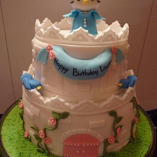Hello Kitty Castle Cake - Cake by Laurie