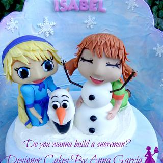 Frozen Do you want to build a Snowman?
