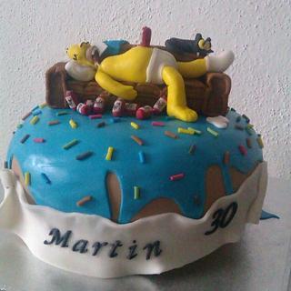 Simpson - Cake by Zuzkine Dortíky
