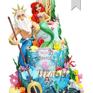 Little Mermaid Cake - Cake by MLADMAN