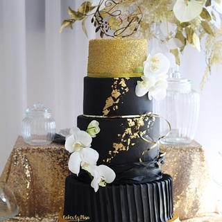 Black&Gold wedding Queen