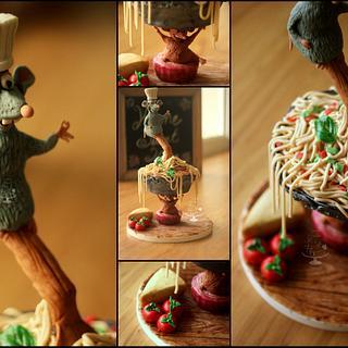 Ratatoullie (Gravity Defying Cake)
