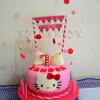 Hello Kitty again :) - Cake by kylieskeyk