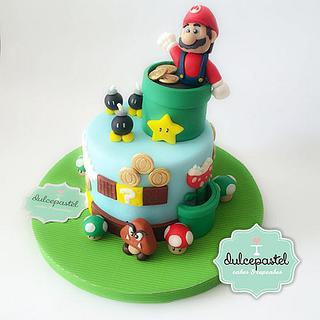 Mario Bros. Cake
