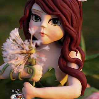 Spring Fairy Cake
