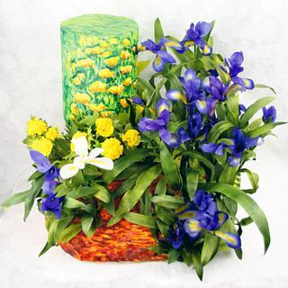Primavera con Arte - Spring with Art Collaboration  - Van Gogh's Irises