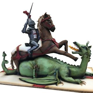 George and the dragon !