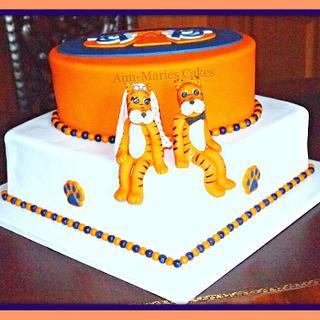 Auburn University Groom's cake - Cake by Ann-Marie Youngblood