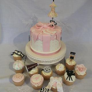 Vintage style film production - Cake by Jayne Worboys