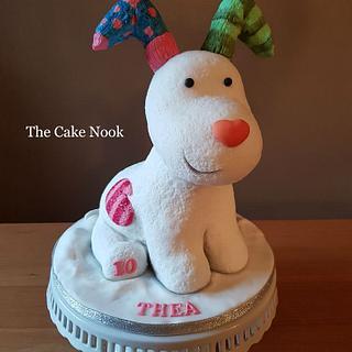 The Snow Dog Cake