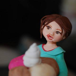Sugar Doll Cake Topper