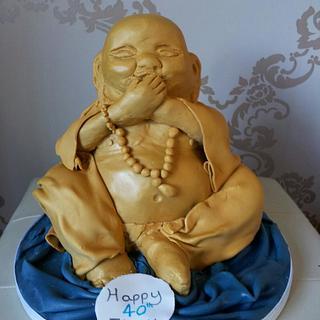 Laughing Baby Buddha
