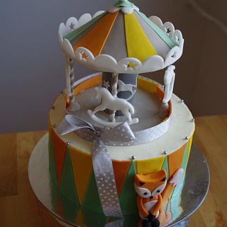 Carousel cake - Cake by TinkaCakes