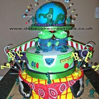 ToyStory Birthday Cake