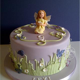 Flower Fairy - Cake by CakeyCake