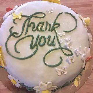 Cakes Thank you