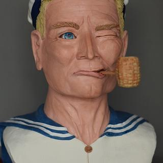 Popeye- A Tribute to Robin Williams - Cake by The Vagabond Baker