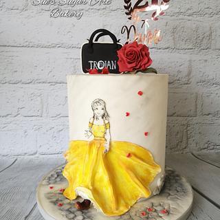 Skinhead Belle - Cake by Sue's Sugar Art Bakery
