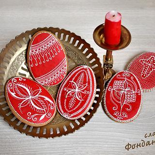 Easter Eggs - Cookies
