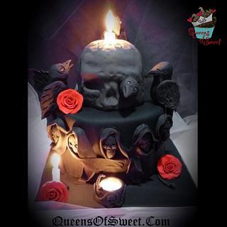 Second Raven Cake