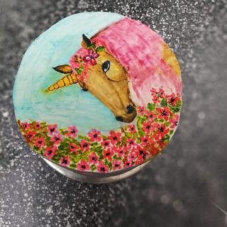 Unicorn  - Cake by aayotee mukhopadhyay