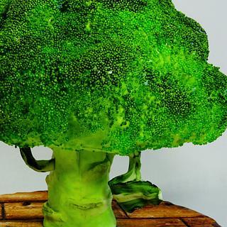Broccoli - Cake by cristinabadea2008