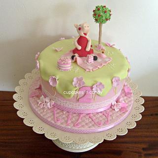 Pepa Pig Birthday Cake