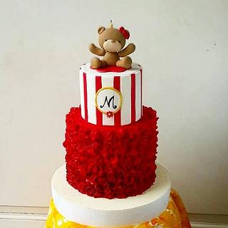 Red Ruffle and Bear