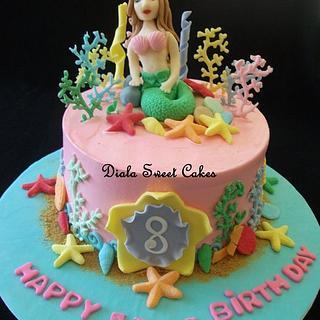 Undersea cake  - Cake by DialaSweetCakes