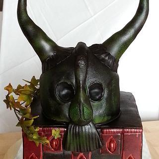 helmet of Mr. Storm