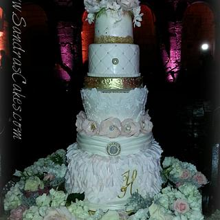 Yahaira's Wedding Cake