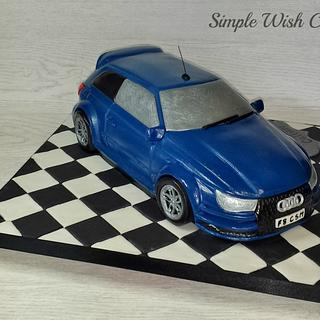 Audi S3 RS Turbo - Cake by Stef and Carla (Simple Wish Cakes)