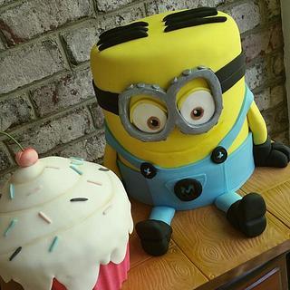 Cupcake Minion!